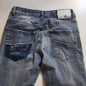 Zara Boys 11/12, Detailed Denim Blue